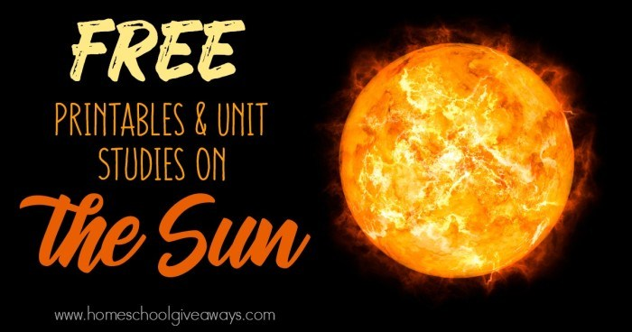 Sun Printables & Unit Studies_FB