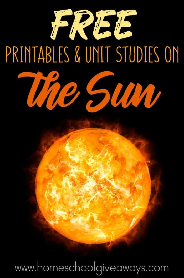 Sun Printables & Unit Studies_pin