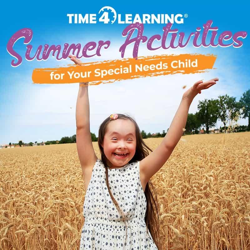 Summer Activities for Special Needs Children
