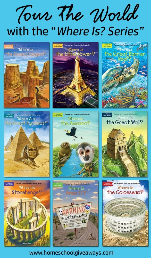 """book covers for Tour the World with the """"Where Is? Series"""""""