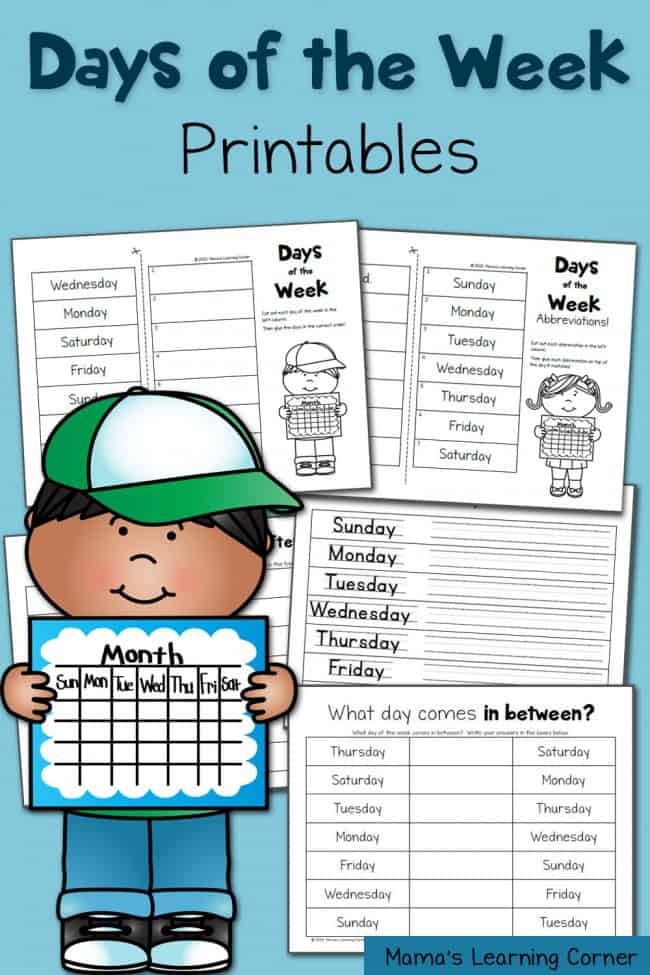 Day-of-the-Week-Worksheets-650x975