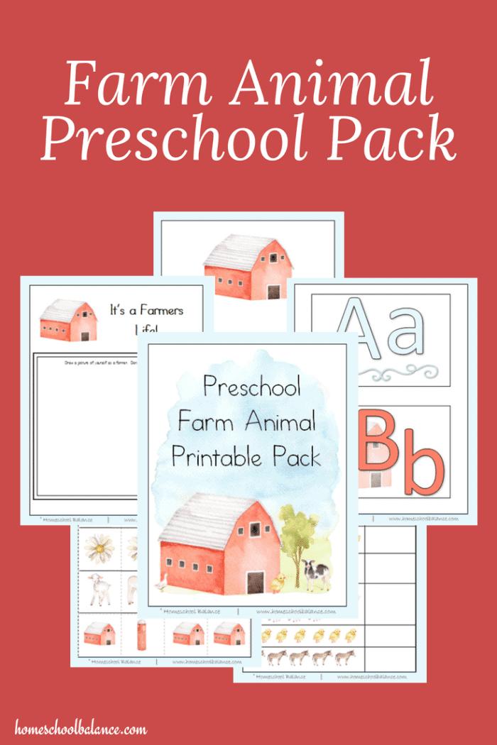 Farm-Animal-Preschool-Pack