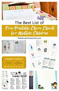 Free-Printable-Chore-Charts-for-Multiple-Children-round-up