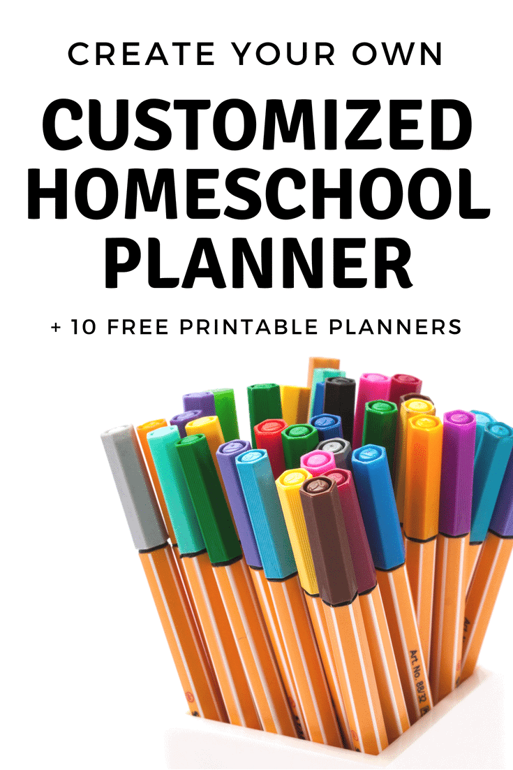 Free Printable Homeschool Planner