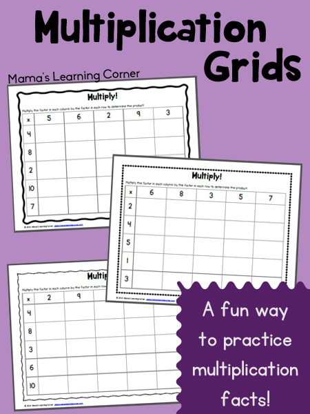 Multiplication-Grids