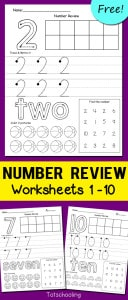 Number-Review-Worksheets