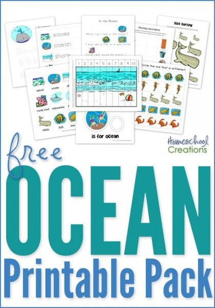 Ocean-printable-pack-for-preschool-and-kindergarten-420x600