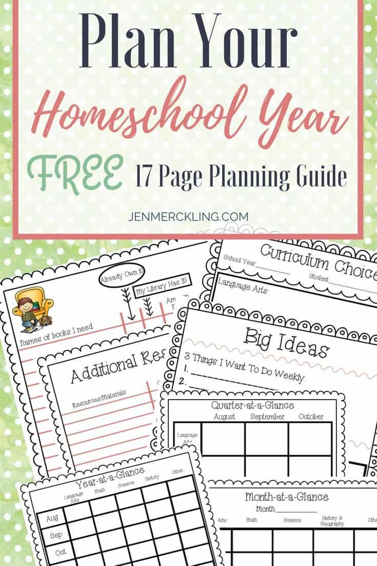 Plan-Your-Homeschool-Year-Pin