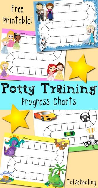 Potty-Training-Progress-Reward-Charts
