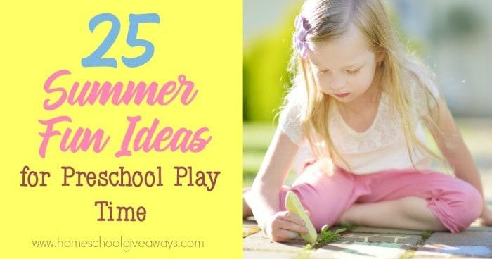 Summer Preschool Play Time_FB