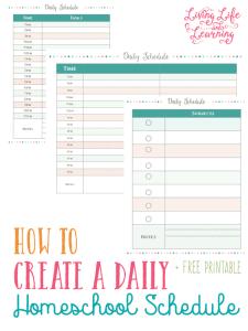 daily-homeschool-schedule