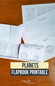 planets-flapbook-printable