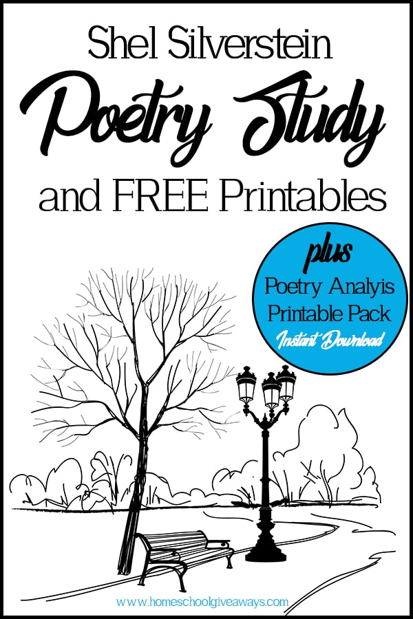 Shel Silverstein Poetry Study and FREE Printables & Poetry ...