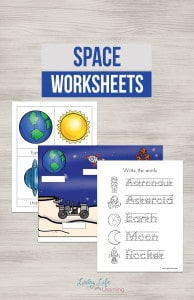 space-worksheets