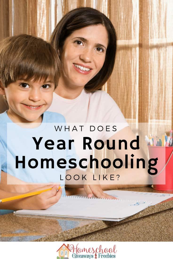 year round homeschooling, homeschoolgiveaways.com