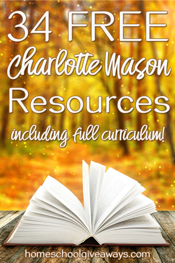 34 FREE Charlotte Mason Curricula and Resources