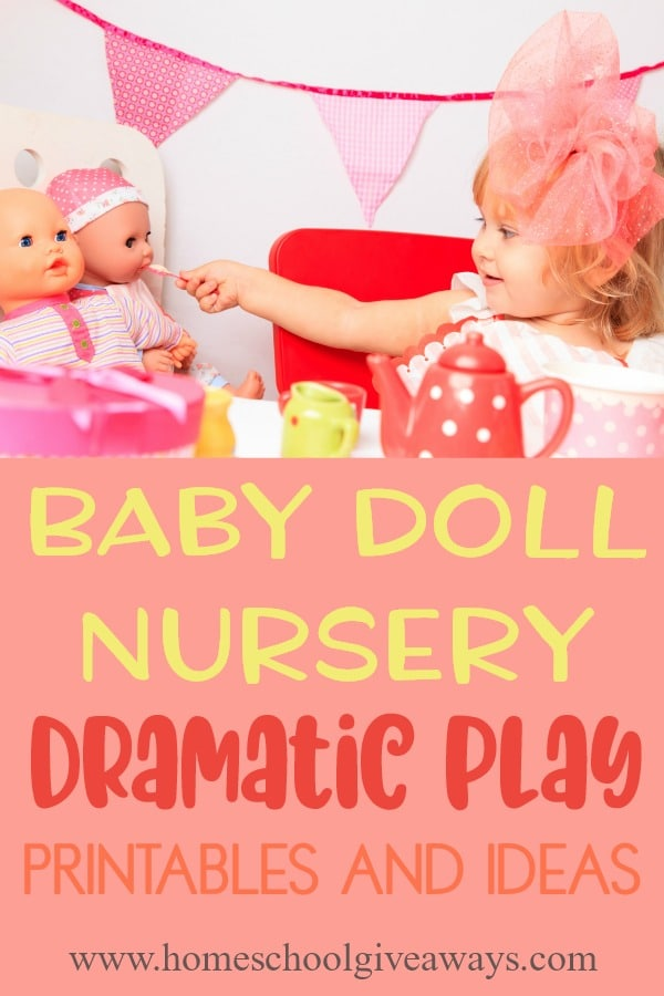 Baby Doll Nursery Dramatic Play Printables And Ideas