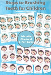 Steps-to-Brushing-Teeth-for-Children-Printable-Chart-and-3-Part-Cards