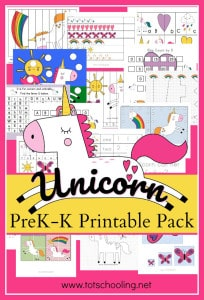Unicorn-Preschool-Kindergarten-Printable-Pack