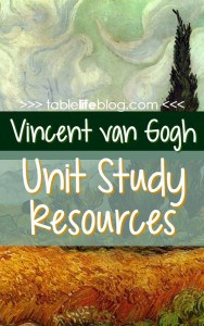 Vincent-van-Gogh-Unit-Study