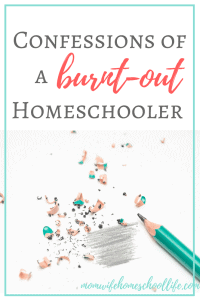 burnt-out-homeschooler
