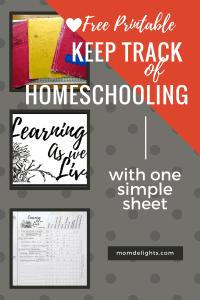 homeschool-record-sheet