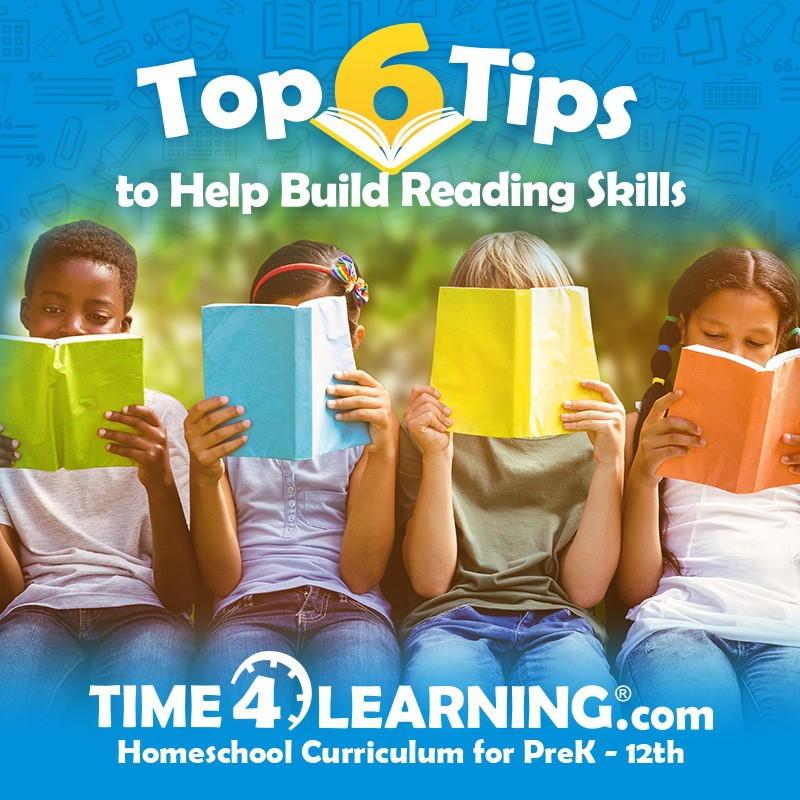 6 Tips to Build Reading Skills