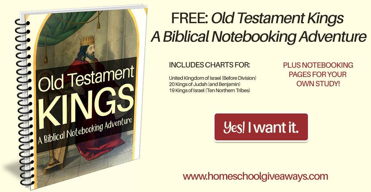 Free homeschool curriculum resources archives money saving mom free old testament kings a biblical notebooking adventure if you plan to read through the old testament kings this handy notebooking journal will help fandeluxe Images