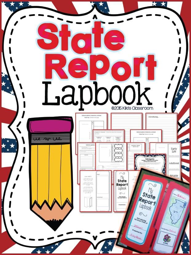state-lapbook