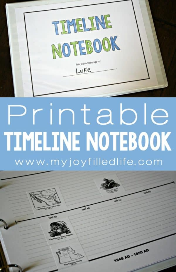Printable-Timeline-Notebook-2-600x925