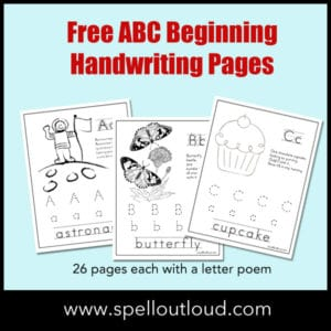 ABCBeginningHandwritingPages