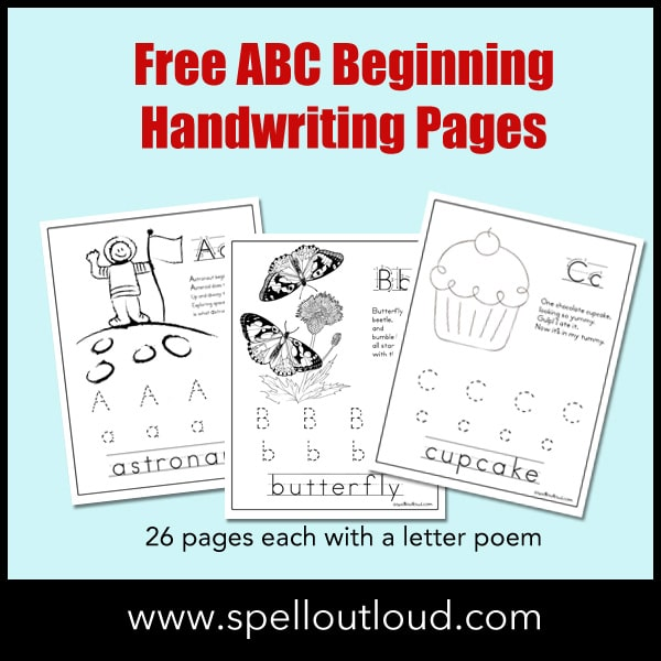 ABCBeginningHandwritingPages