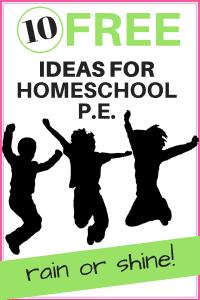 Ideas for Homeschool PE