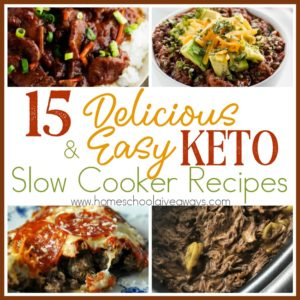 When sticking to a Keto diet, going to the drive-thru on a busy night just isn't an option! With these delicious and easy Keto slow cooker recipes, you don't have to! Check out these delicious and easy slow cooker KETO recipes! #keto #ketorecipes #slowcooker #recipes