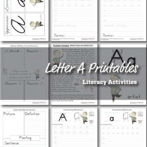 Letter-A-Occupations