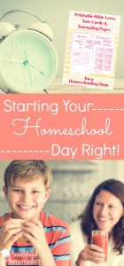 Starting-Your-Homeschool-Day-Right