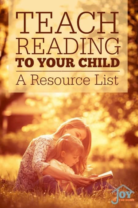 TeachReadingtoyourchild