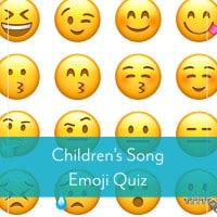 Children's Song Emoji Quiz