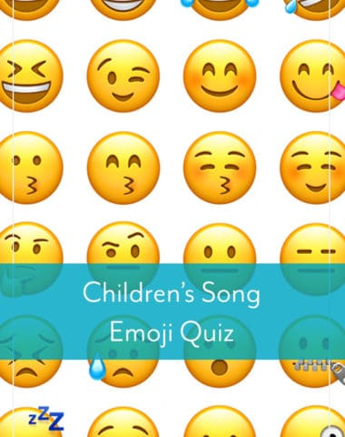 Children's Song Emoji Quiz
