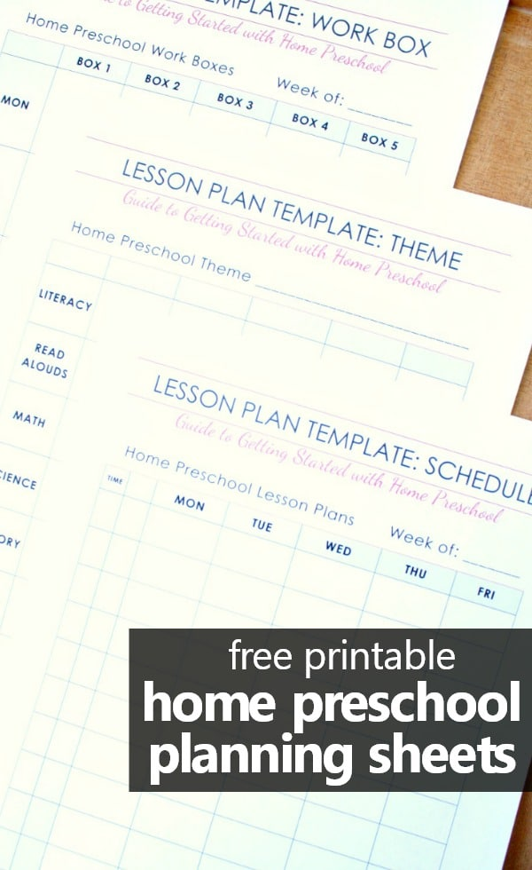 Free Preschool Lesson Plan Templates Benefits Of Lesson Plans In