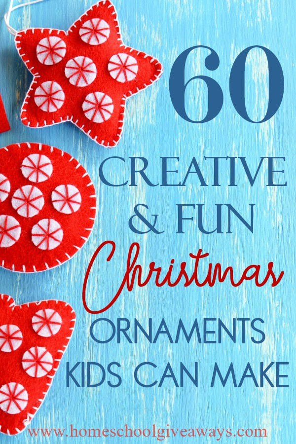 If your kids love crafts, why not put their creativity to good use and let them create some ornaments! They are not only perfect gifts, but can become wonderful keepsakes. #Christmas #ornaments #DIY #kids