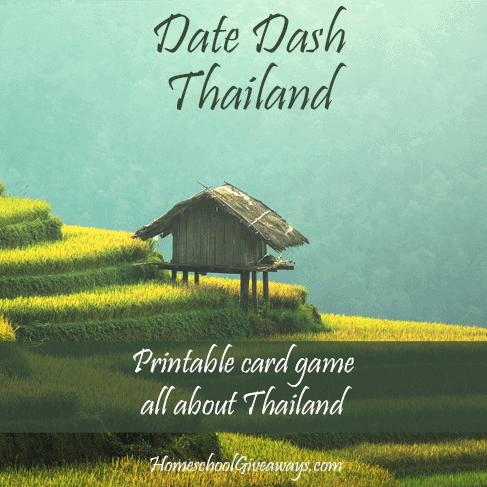 Date Dash Thailand - Thai History Card Game