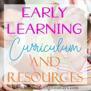 Homeschooling doesn't have to be expensive, especially in the early years. There are so many different early learning resources to fit your needs and wants. Check out some of our favorites! #preschool #kindergarten #homeschoolers #homeschooling
