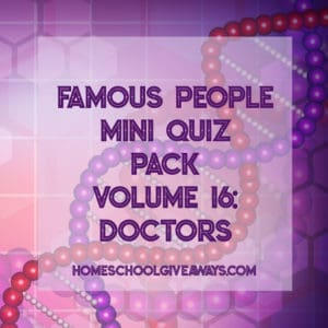 FREE Famous People Mini Quiz Pack Vol. 16 - Doctors