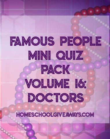 FREE Famous People Mini Quiz Pack Vol. 16 - Doctors