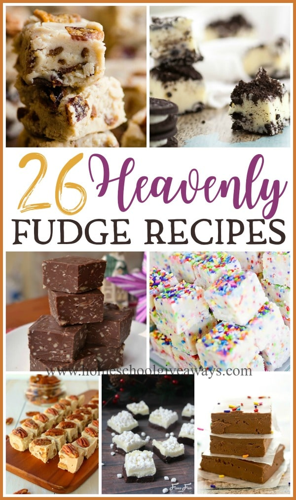 Even though I love the classic fudge recipe, I love tasting new variations too. If you're looking for some delicious new treats this year, check out these heavenly fudge recipes that will melt in your mouth. #fudge #Christmas #holiday #recipes