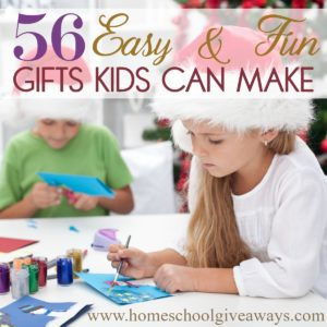 """There are """"holidays"""" for almost every day of the year. In fact, December 5th is Make a Gift Day, which is perfect timing for Christmas! Take a day off school work and make it a full-day event. Your kids will love getting to create their own gifts for those they love! #gifts #DIYgifts #giftgiving #Christmas"""