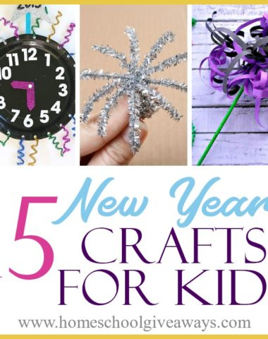 Whether you are celebrating early or are looking for a fun activity to keep your kids entertained until midnight to ring in the New Year, here are some fun New Year's Eve and New Year's Day crafts for kids. #HappyNewYear #NewYearsEve #NewYears #crafts