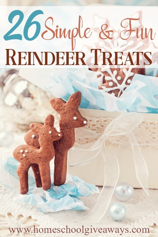 Christmas is just around the corner! These reindeer treats are not only adorable, but fun and easy to make too! Make them for a Christmas gathering, to hand out as gifts or for a fun movie night tradition. #Christmas #reindeer #cooking #recipes