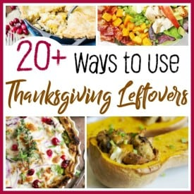 Thanksgiving is a wonderful holiday to spend with family and friends. It is also a holiday filled with delicious food...and lots of it! Make the most of your Thanksgiving leftovers with these creative recipes! #Thanksgiving #leftovers #family #meals